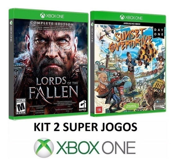 Lords Of The Fallen + Sunset Overdrive Midia Fisica Xbox One
