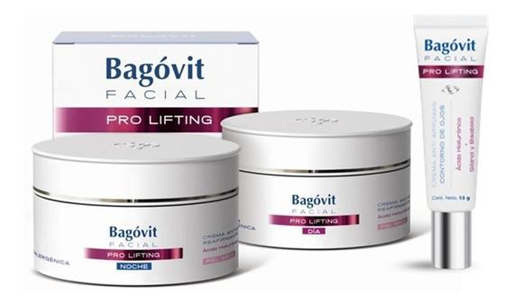 Bagovit Facial Pro Lifting Dia Ps + Noche + Ojos