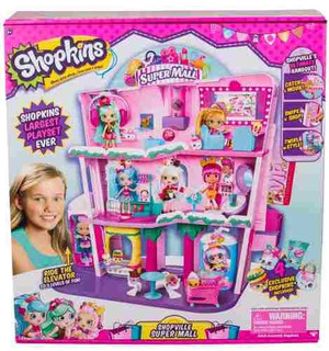 Shopkins Shoppies Shopville Super Mall Compreonline!
