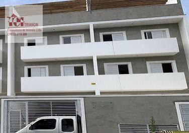 Imagem 1 de 1 de Cobertura S/cond. C/elevador 2 Dormitórios À Venda, 95 M² Por R$ 330.000 - Jardim Jamaica - Santo André/sp - Co0999