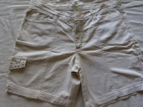 Shorts Teen Stretch Tamanho 40 - Nude