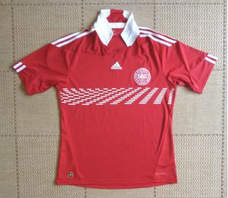 Camisa Original Dinamarca 2010 Home