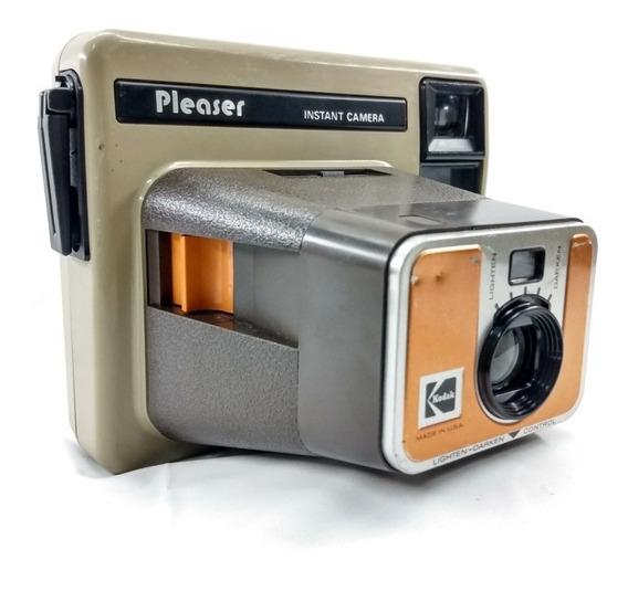Camera Instantânea Antiga Kodak Pleaser (c25)