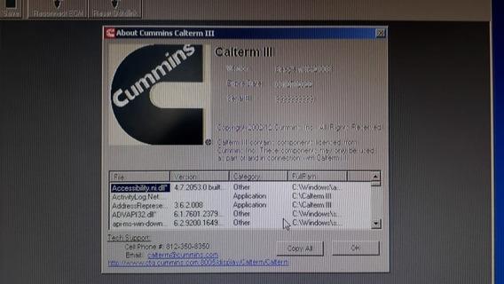 Cummins Calterm Iii + Metafile