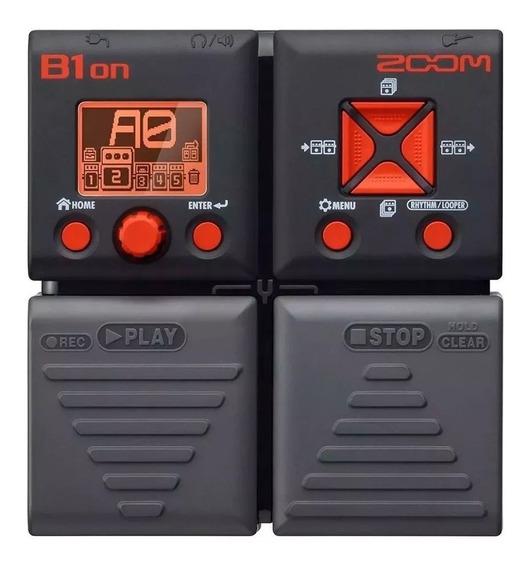 Pedaleira Zoom B1on Para Baixo Novo C/ 2 Anos De Garantia