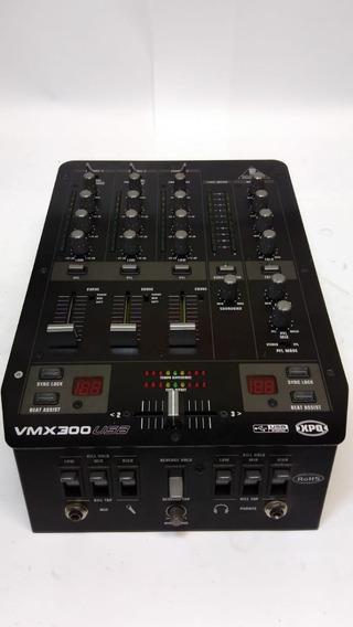 Mixer P/dj Behringer Vmx 300 Usb 3 Canais Vmx300usb Cod1553
