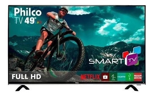 Smart Tv Philco Led 49 Polegadas Com Full Hd Wi-fi Usb Hdmi