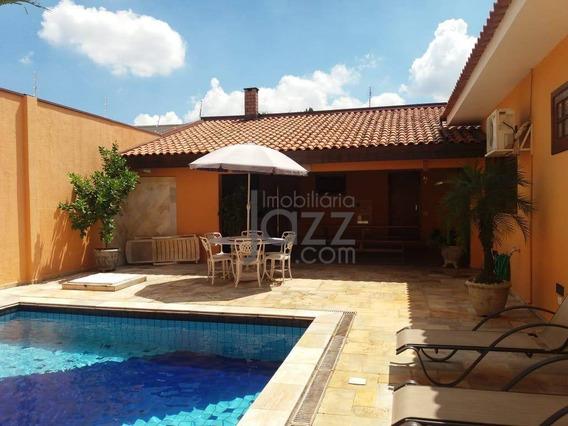 Esplendorosa Casa Térrea No Jardim De Itapoan, Em Paulínia - Ca6723