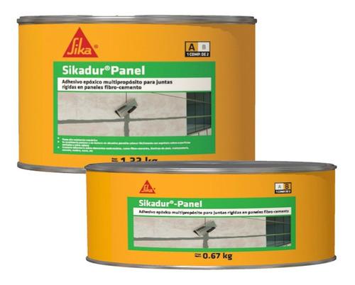 Sikadur Panel Adhesivo Epóxico Multipropósito Juntas 2kg