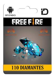100 Diamantes Free Fire + 10 Bonus   Entrega Inmediata  