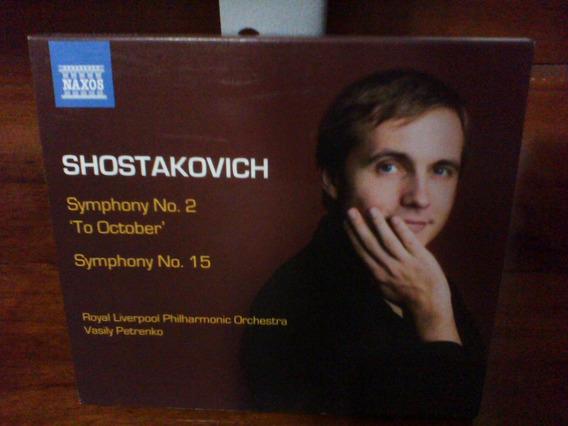 Naxos Shostakovich Symphony 2 And 15 Import