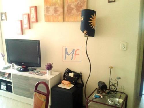 Imagem 1 de 30 de Ref 9008 - Excelente Apartamento Em Condomínio Padrão Para Venda No Bairro Vila Ipojuca,próx. Cerro Corá - Lapa  2 Dorm, 1 Vagas, 52 M - 9008