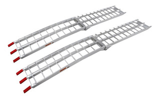 Rampa De Aluminio Carga Auto Plegable 680 Kg Atv