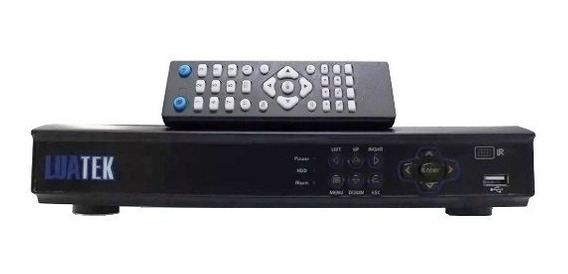 Receptor Digital Dvr Luatek Versatile-hd 8 Canais 1080p Hdmi