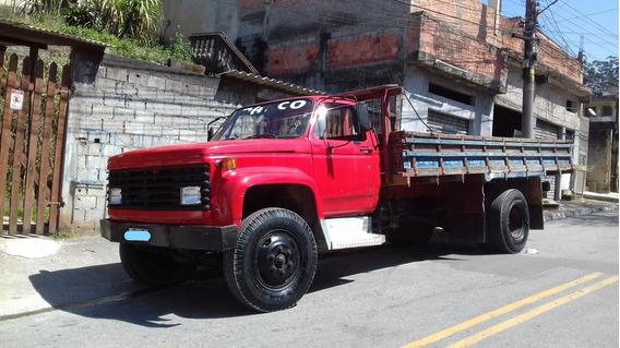 Caminhão Chevrolet Custom Diesel, Ano 1985 Carroceria.