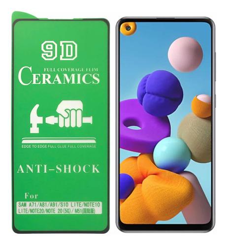 Vidrio Cerámica Celular Samsung A21s