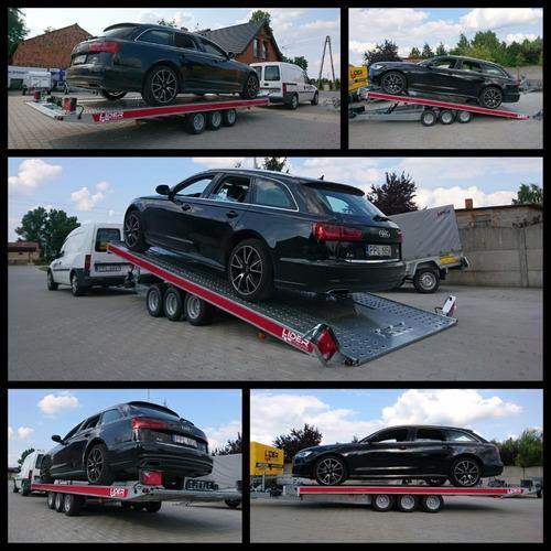 Trailer Temared - Carkeeper 4.80 Mts Con Volcadora C/frenos