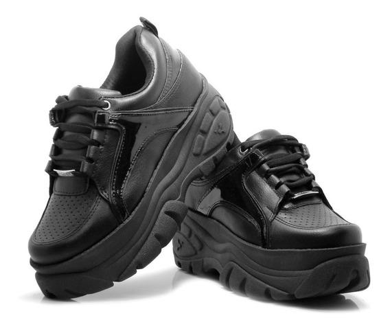 Zapatillas Negras Mujer Sneakers Urbanas Savage Originales