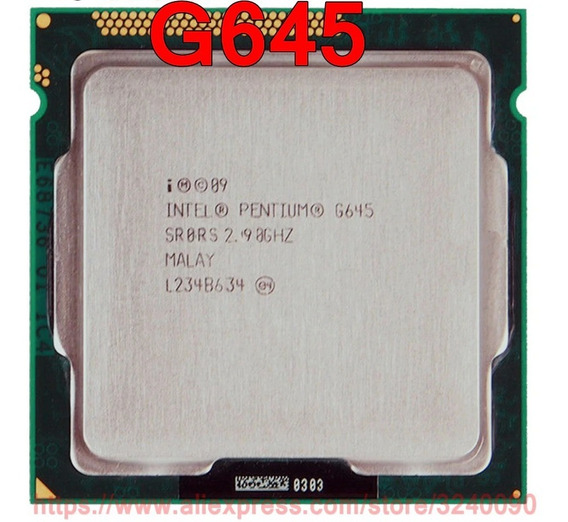 Processador 1155 Intel Pentium G645 2.9ghz + Cooler