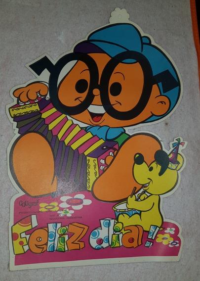 Anteojito Poster Cumpleaños Garcia Ferre Cotillón Años 70s
