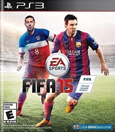 Jogo Fifa 15 2015 Playstation 3 Ps3 Futebol Mídia Física