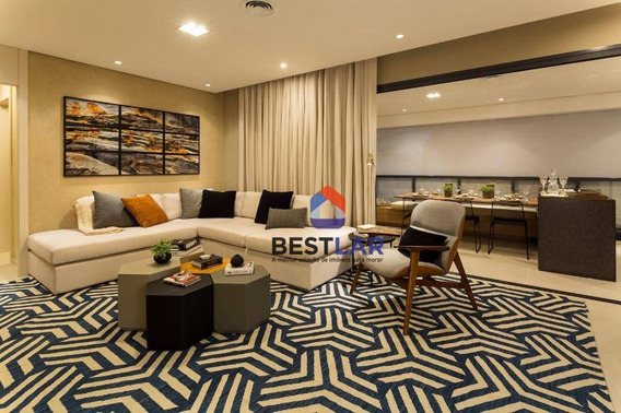 Apartamento Residencial À Venda, Alto De Pinheiros, São Paulo. - Ap0983