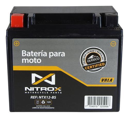 Imagen 1 de 2 de Batería Nitrox  Moto X-town 300
