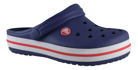Crocs Crocband Azul Marino / Rojo Unisex