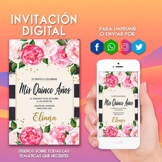 Tarjetas De Invitacion Para 60 Años Mujer Tarjeta
