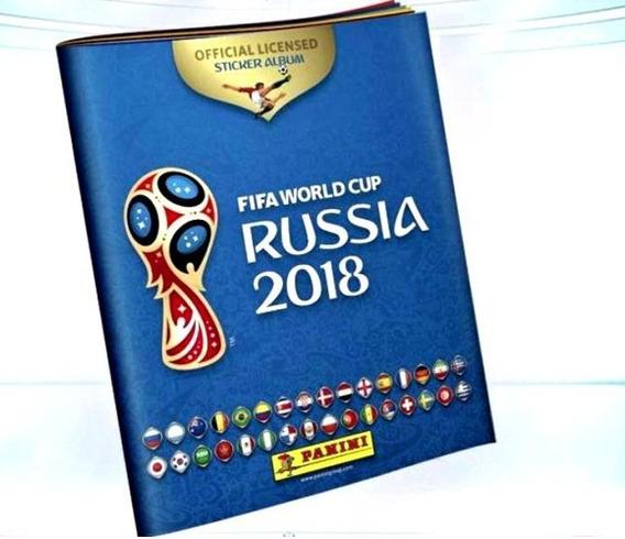 Kit Copa Do Mundo 2018 - 20 Álbuns Capa Cartão + 1000 Figu