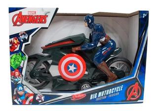 Avengers Capitan America Moto