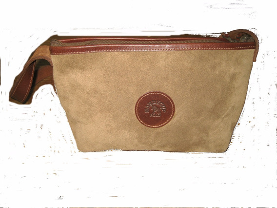 Cartera Gamuza Color Camel