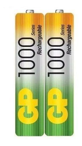 Pila Bateria Aaa Recargable 1000mah Nimh X 1par Gp A027