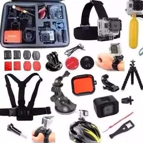Kit Completo Gopro Hero Session C/ Case Pronta Entrega