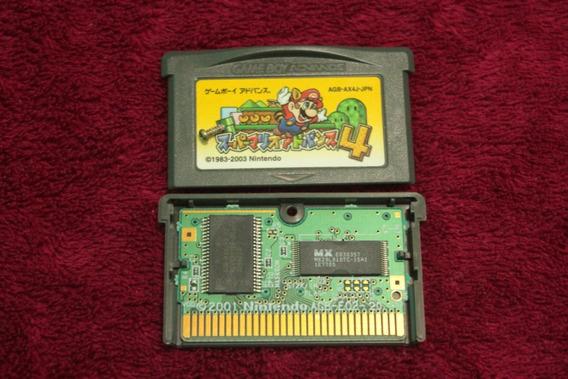 Jogo Super Mario Advance 4 - Mario 3 Original Game Boy Gba