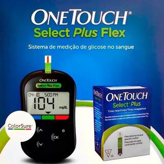 Aparelho Medidor Onetouch + 10 Tiras