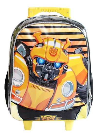 Ruz - Hasbro Transformers 6 / Mochila Primaria Infantil