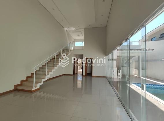 Casa Em Condominio Para Aluguel, 3 Quartos, Vila Aviação - Bauru/sp - 765