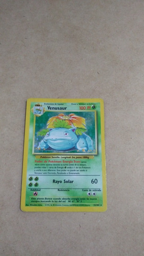Venusaur Base Set  15/102 Pokemon