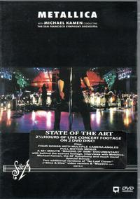 Dvd Duplo Metallica - The San Francisco Symphony Orquestra