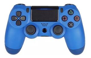Control Inalámbrico Bluetooth Para Ps4/android/iPhone - Azul