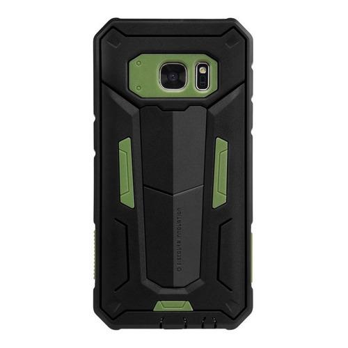 Imagen 1 de 7 de Carcasa Antigolpes Nillkin Defender Ii Samsung S7, Verde