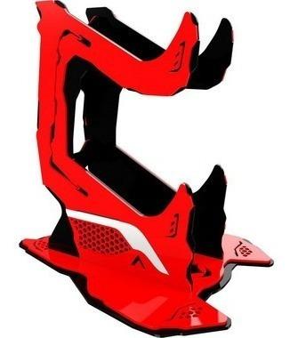 Suporte Controle Joystick Rise Venom V3 - Vermelho