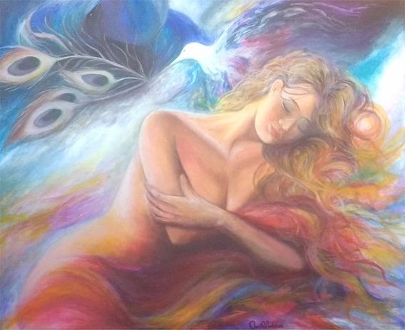 Cuadros Originales Pintura A Mano Mujer