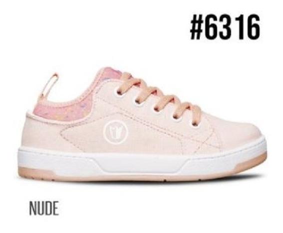 Prowess #6313 - Zapatillas Cordón Nude