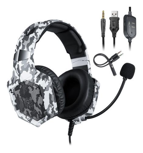 Onikuma K8 3.5mm Gaming Headset Estéreo Over-ear Fones De Ou