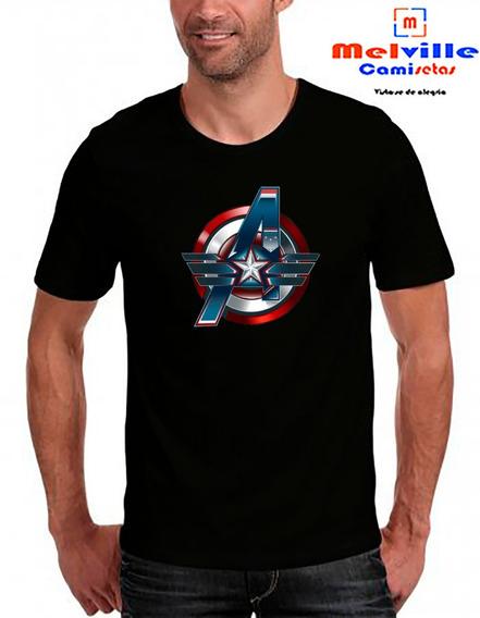 Camiseta Marvel Capitão America / Vingadores Ultimato