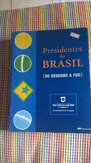 Livro Presidentes Do Brasil Usado