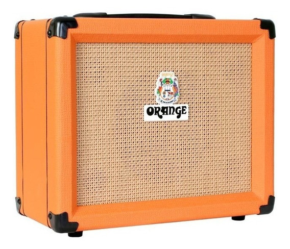 Combo Para Guitarra Orange 20w 2 Canais Crush 20 + Nf