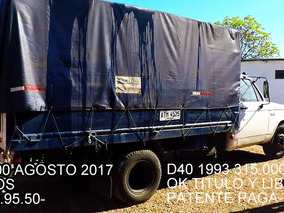 Camion Chevrolet D-6000
